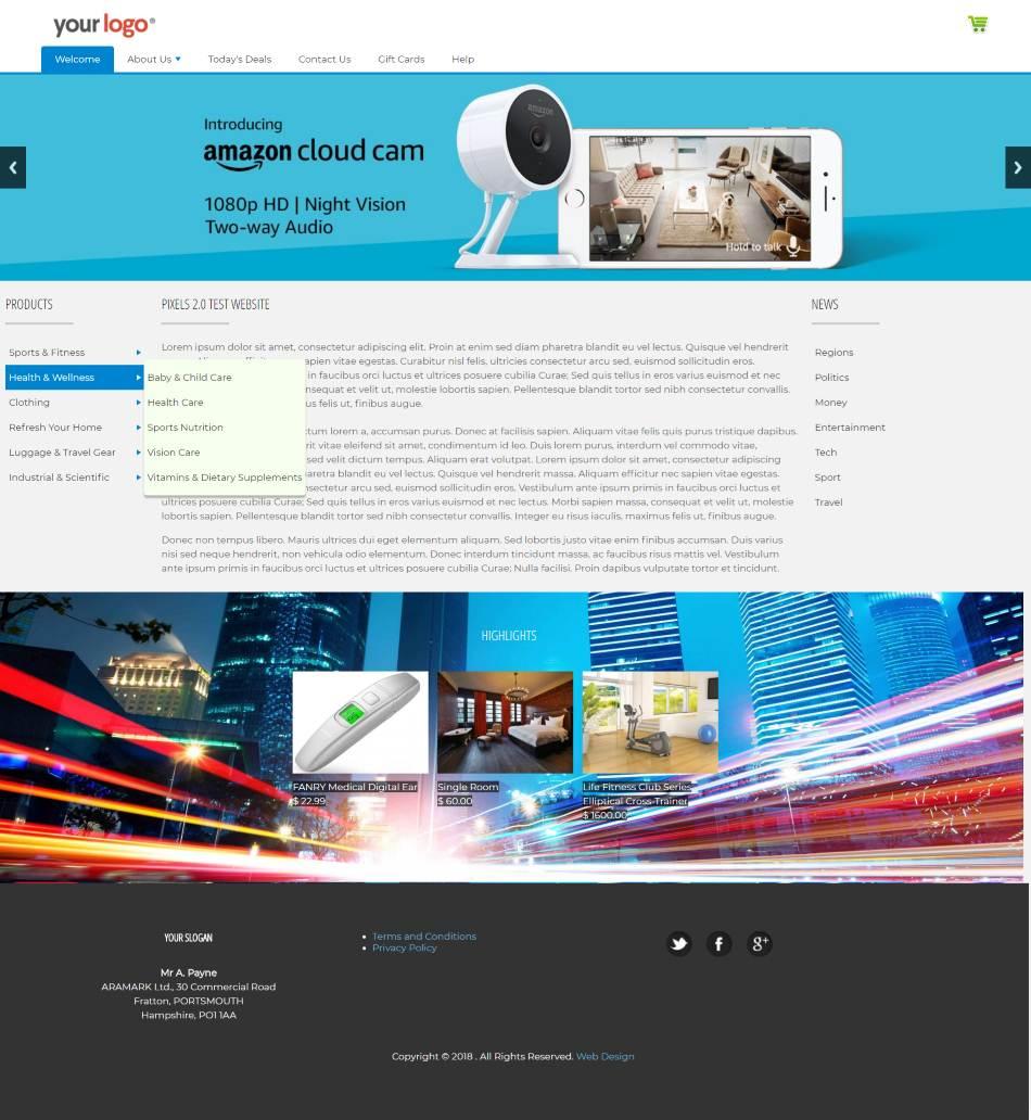 Content Management System Html Css Java Script Php
