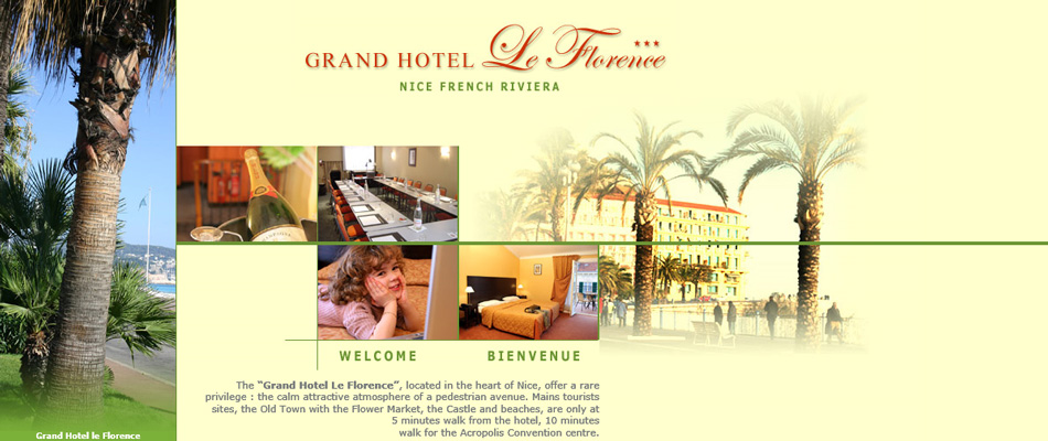 hotels and tourism design Grand Hotel le Florence